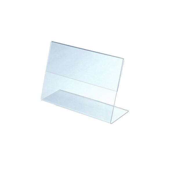 OL-112 Ценникодержатель L-образный. Горизонтальный