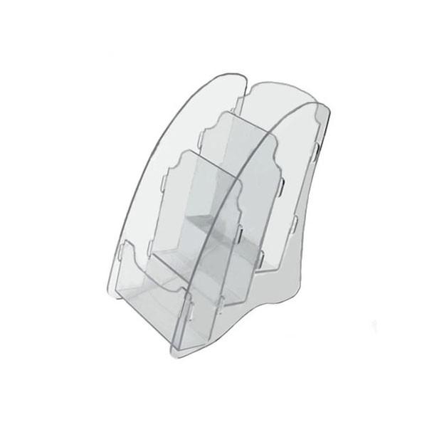 OL-162А6/3 Подставка для буклетов формата А-6, 3-х ярусная