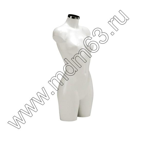 BU-9452 Торс женский, удлинённый. Цвет: Белый