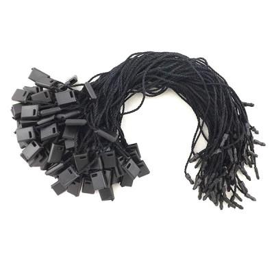 Биркодержатель верёвочный. Цвет: Чёрный