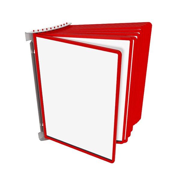 Настенная-перекидная система, 10 рамок А4