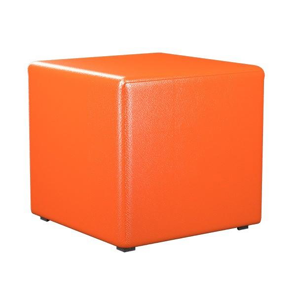 """ПФ-01 Банкетка """"Куб"""" Цвет: Оранжевый"""