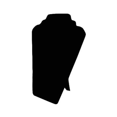 """ПБ-11 Планшет """"Шея"""" для колье и цепочек (бархат)"""